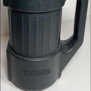 Vintage 90's Thermos - Heavy Duty Dark Blue